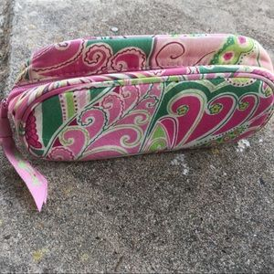 Vera Bradley small pink case